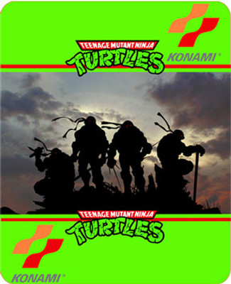 Teenage Mutant Ninja Turtles custom Arcade Side Art
