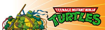 TMNT Custom Video Arcade Marquee