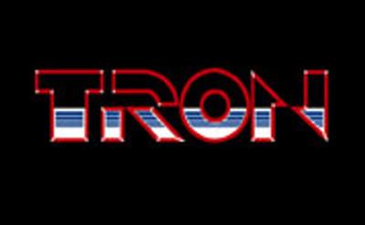 Tron Arcade joystick insert sticker