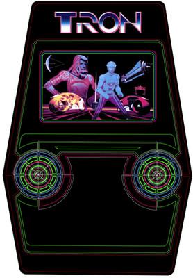 Tron Video Arcade Side Art