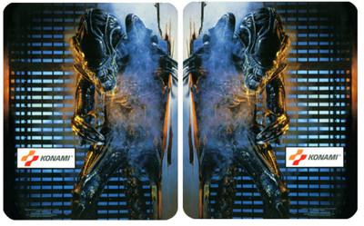 Aliens Konami Video Arcade Side Art