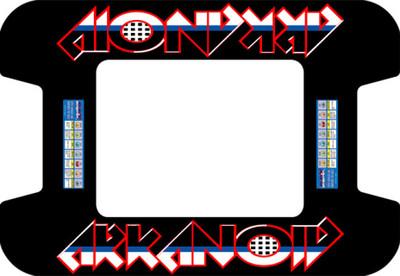 Arkanoid custom Cocktail Bezel Underlay