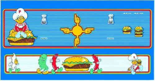 Burgertime Control Panel Overlay