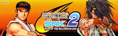 Capcom VS. SNK 2 Video Arcade Marquee