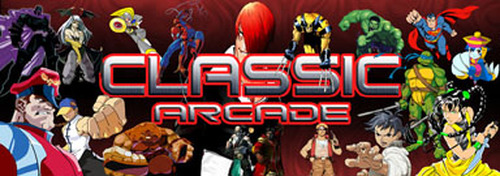 Classic Arcade custom Video Arcade Marquee
