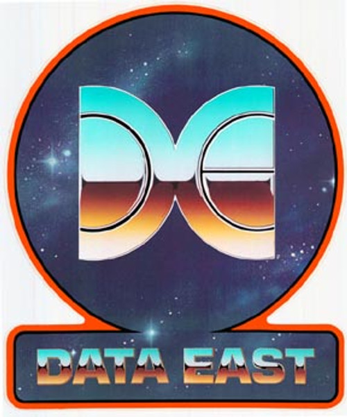 Data East Video Arcade Side Art
