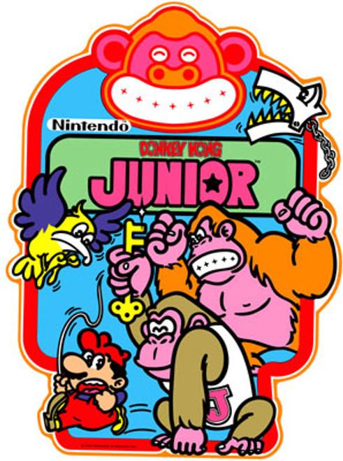 Donkey Kong Junior Video Arcade Side Art