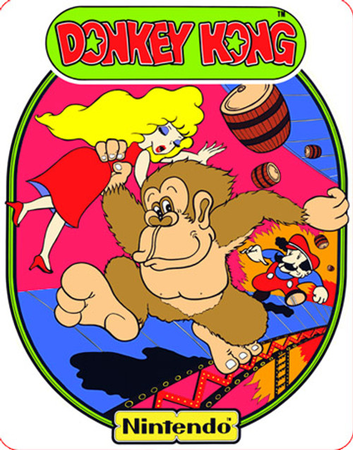 Donkey Kong Video Arcade Side Art