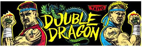 Double Dragon Video Arcade Marquee