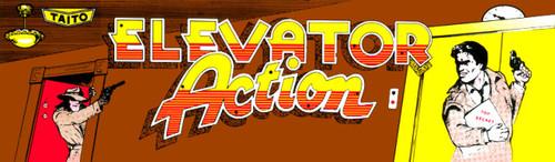 Elevator Action Video Arcade Marquee