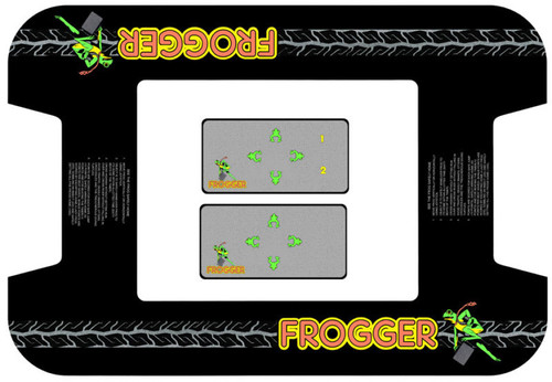 Frogger Midway Cocktail Bezel underlay and CPO kit