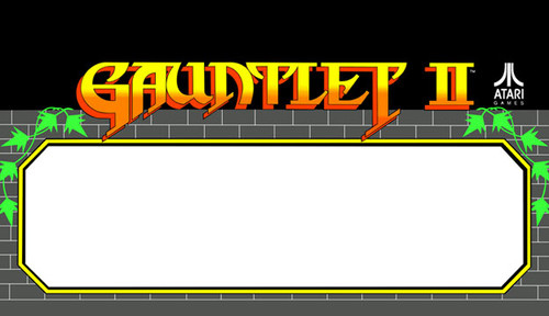 Gauntlet 2 Video Arcade Marquee Speaker grill