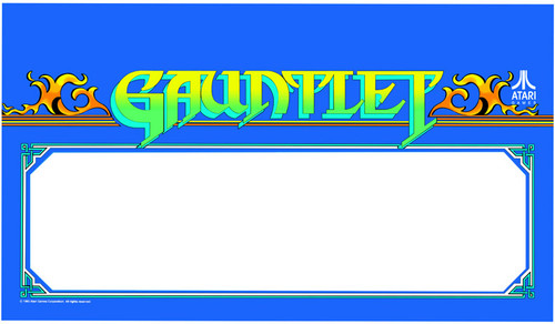 Gauntlet Video Arcade Marquee Speaker grill