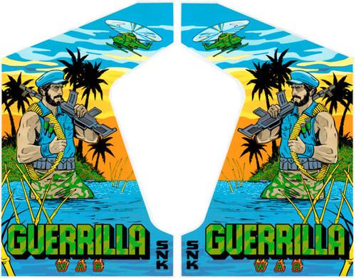 Guerrilla War SNK Video Arcade Side Art