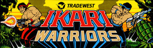Ikari Warriors Video Arcade Marquee