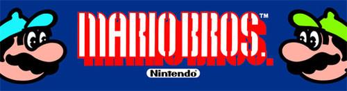Mario Brothers Video Arcade Marquee