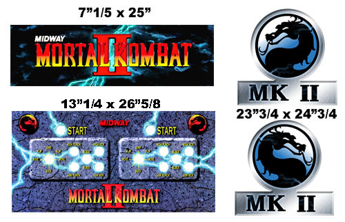 Mortal Kombat 2 graphic restore kit