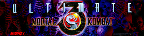 Mortal Kombat 3 Video Arcade Marquee