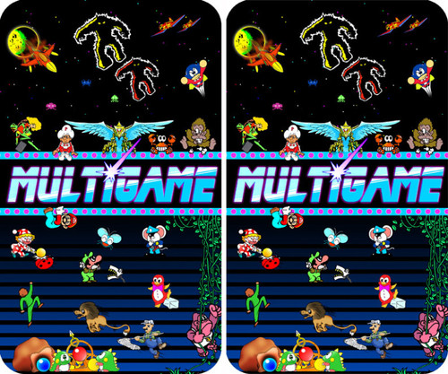 MultiGame custom Arcade Side Art
