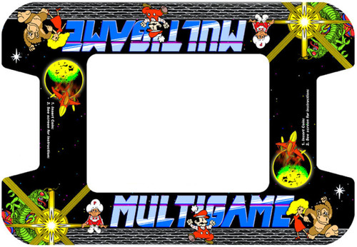 MultiGame custom Cocktail Bezel Underlay