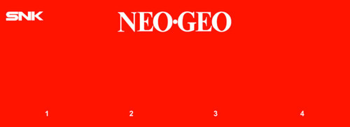 Neo Geo 4 slot Video Arcade Marquee