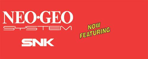 Neo Geo Video Arcade Marquee