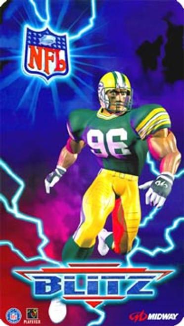 NFL Blitz Video Arcade Side Art