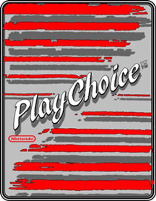 Playchoice Video Arcade Side Art