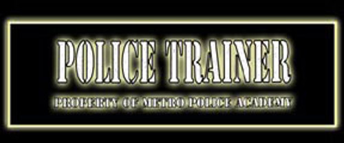Police Trainer Video Arcade Side Art