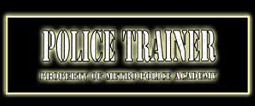 Police Trainer Video Arcade Side Art