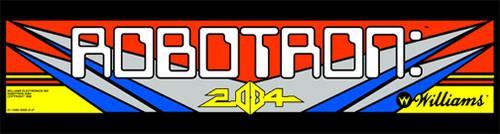Robotron mini cabaret Video Arcade Marquee