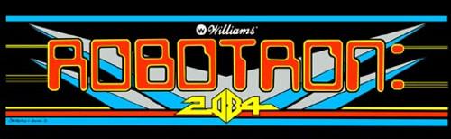Robotron Video Arcade Marquee