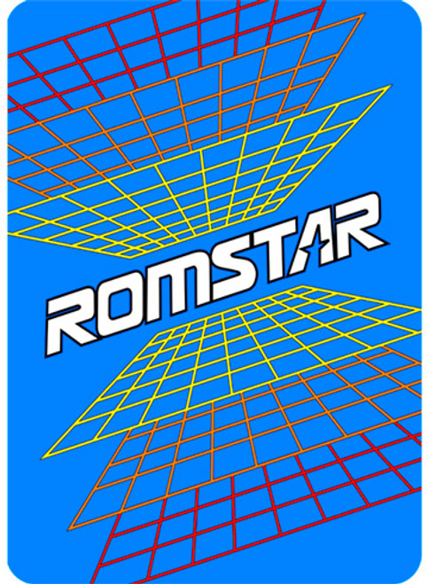 Romstar Video Arcade Side Art
