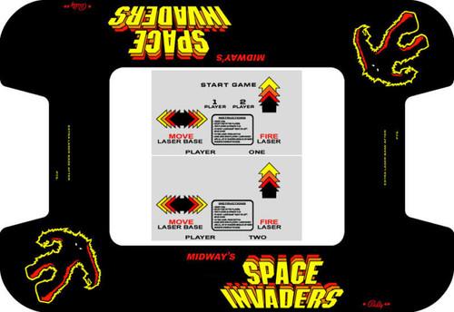 Space Invaders Custom Bezel underlay and CPO kit