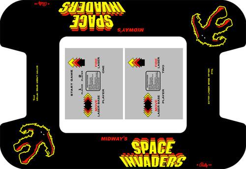 Space Invaders Custom Bezel underlay and CPO LONG kit