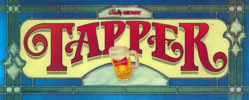 Tapper Video Arcade Marquee