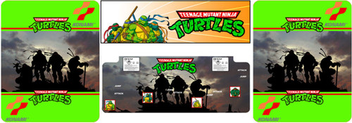 Teenage Mutant Ninja Turtles custom 4 piece restore kit