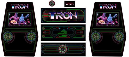 Tron upright 7 piece graphic restore ki