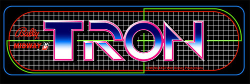 Tron Video Arcade Marquee