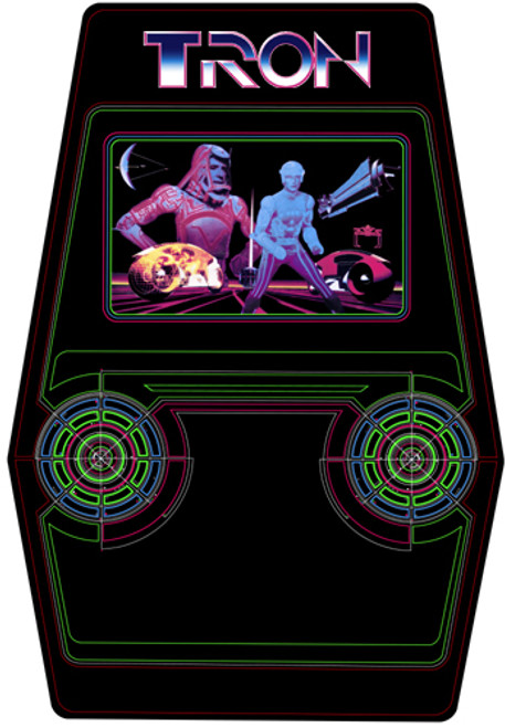 Tron Video Arcade Side Art