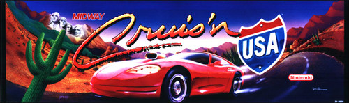 Cruis'n USA Video Arcade Marquee
