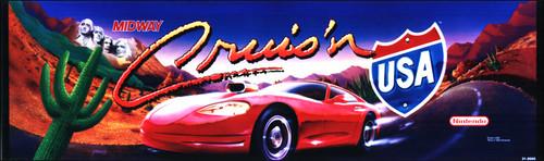Cruis'n USA Video Arcade Marquee