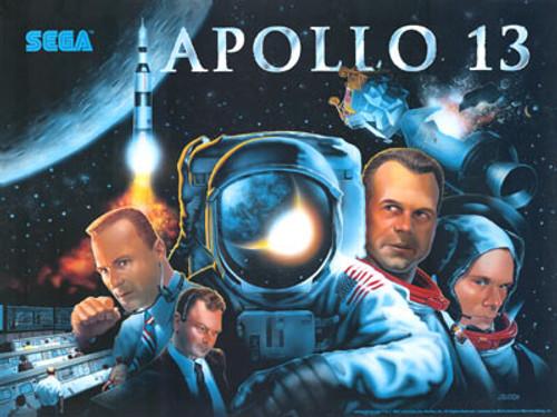 Apollo 13 replacement pinball translite