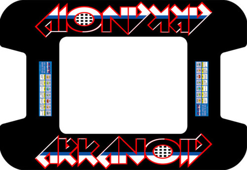 Arkanoid custom Cocktail Bezel Underlay