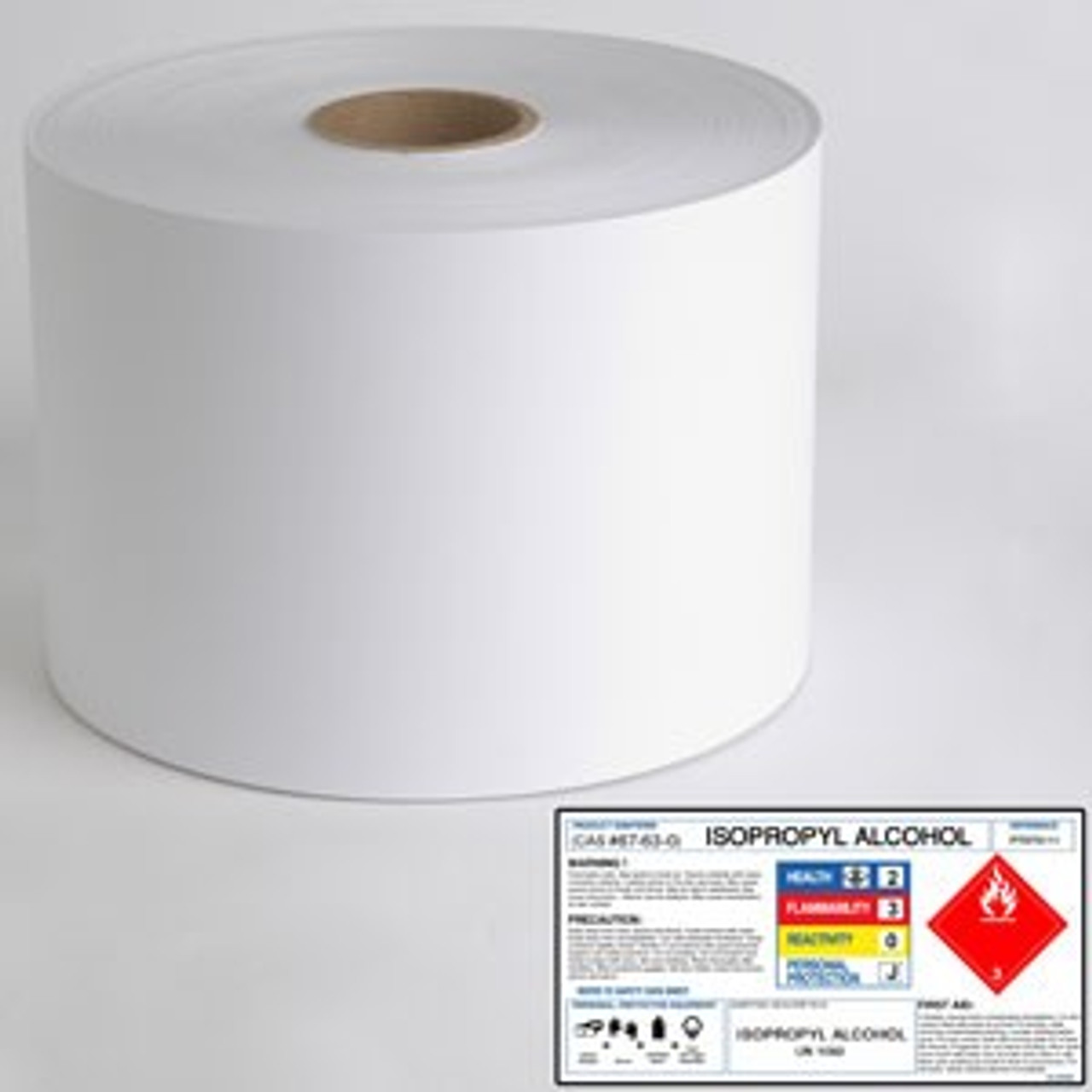 """Laser 8.5"""" x 1250ft Chemical Polyester Label Roll"""