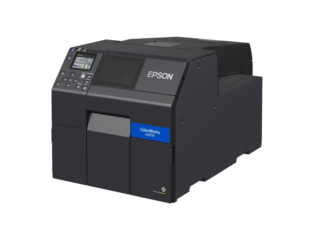 Epson ColorWorks C6000A 4 inch color label printer - Autocutter