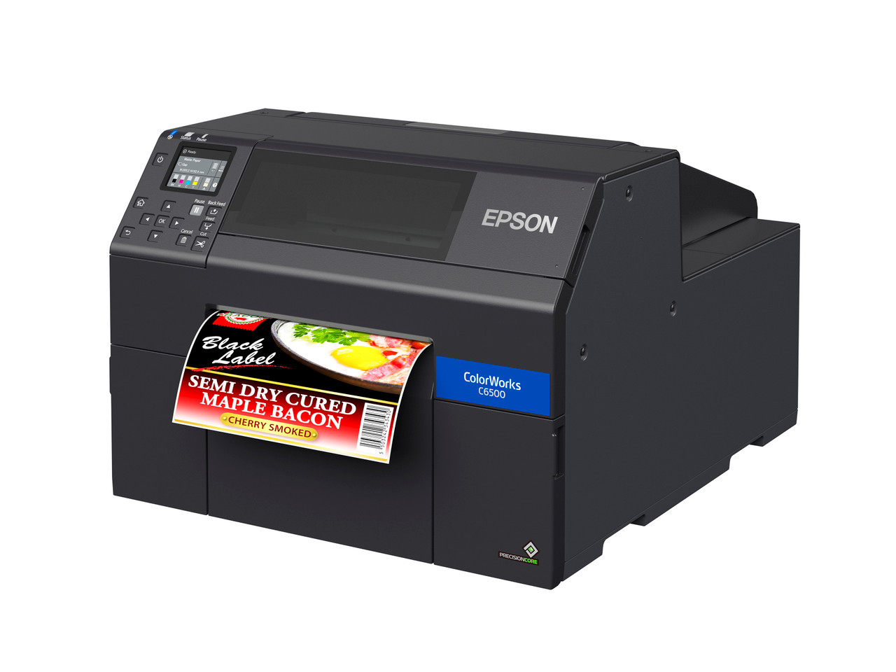 Epson ColorWorks C6500A 8 inch color label printer - Autocutter