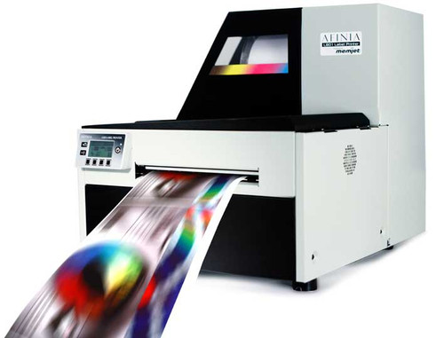 Worlds fastest inkjet color label preterit - Afinia L801
