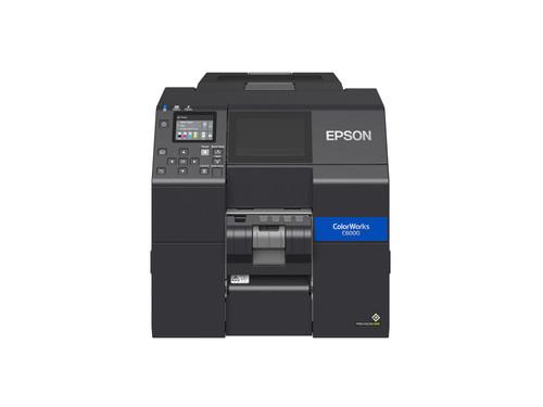 "Epson ColorWorks C6000P Gloss 4"" inch Colour Label Printer-Peeler"