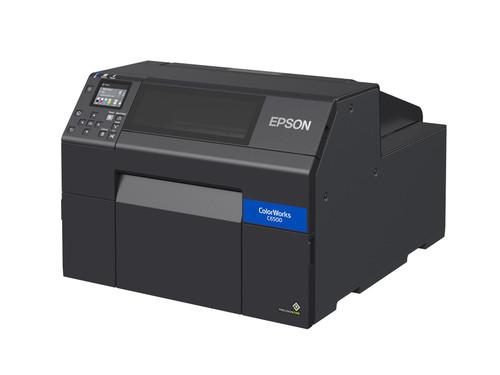 """Epson ColorWorks C6500A Matte 8"""" inch Colour Label Printer-Autocutter"""